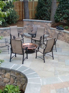 backyard patio design process