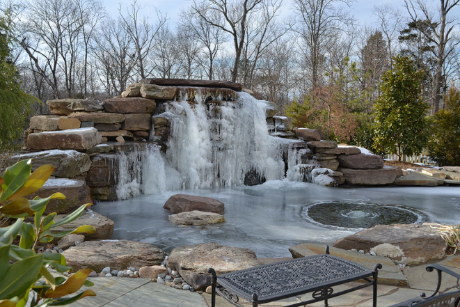 water feature pond ashburn virginia