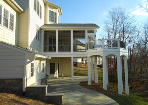 Screen Porch Deck Loudoun County