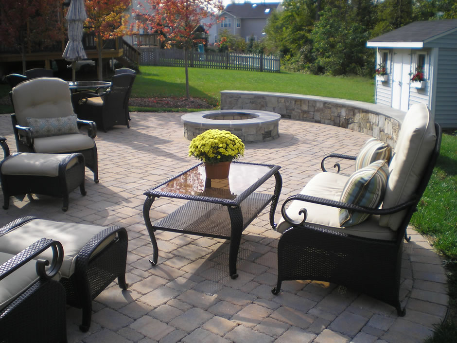 Firepit patio Ashburn