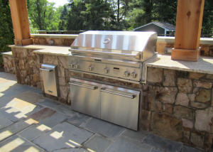 Outdoor Kitchen Kitchenaid grill McLean