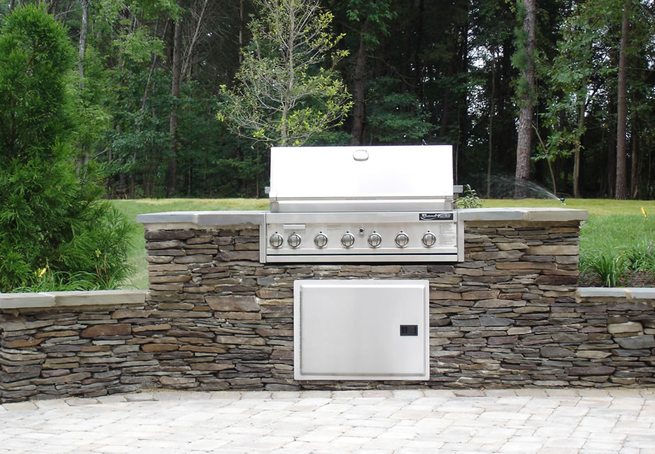 Outdoor cooking station VA