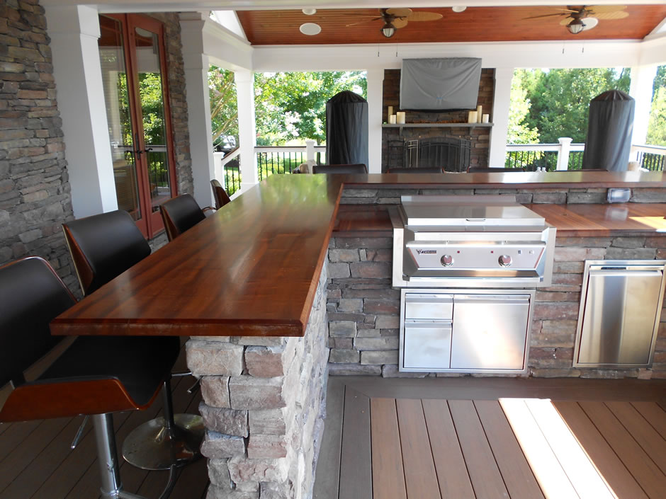 Outdoor Kitchens & Outdoor Kitchens - Mu0026M Professional Landscaping