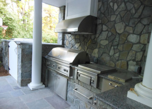 Outdoor Kitchen grill station Vienna VA