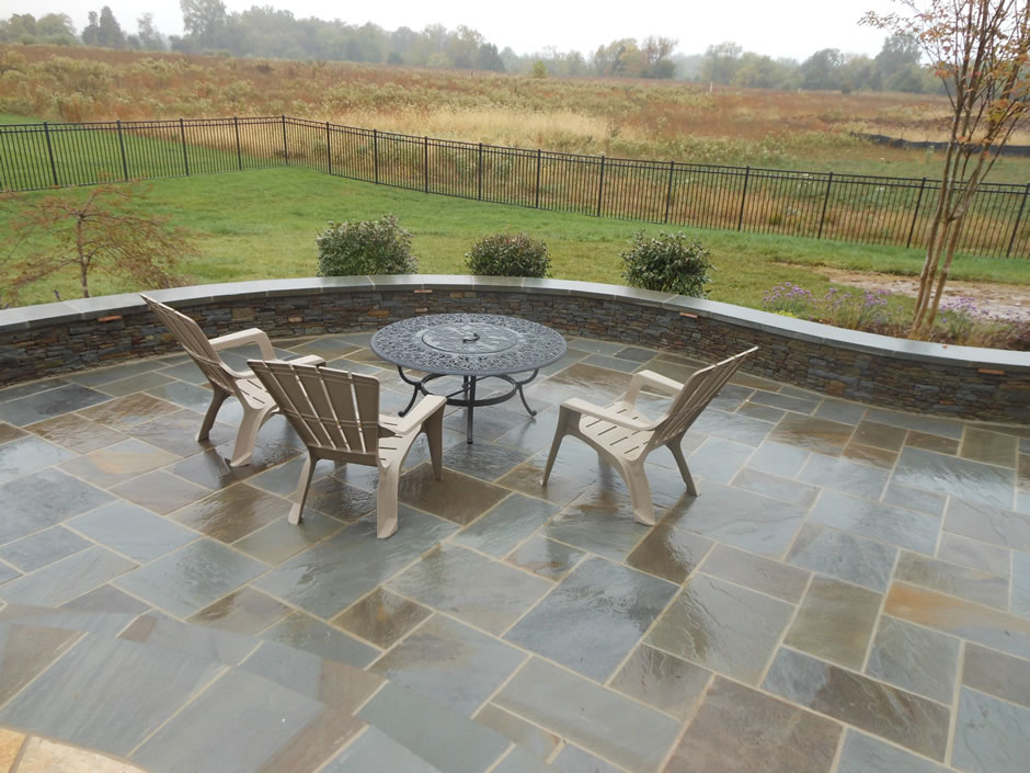 Flagstone patio masonry Ashburn VA