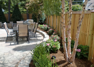 Backyard patio flagstone Vienna VA