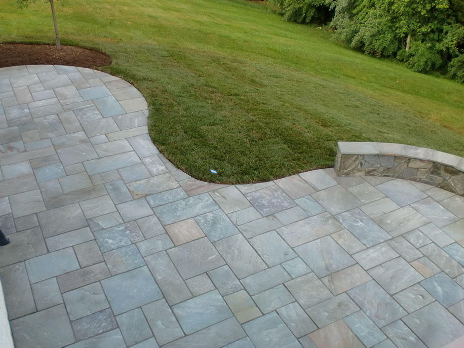 cut flagstone patio Ashburn, VA