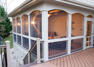 Screened Porch and Deck in Ashburn, VA