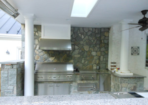 Outdoor kitchen Vienna VA