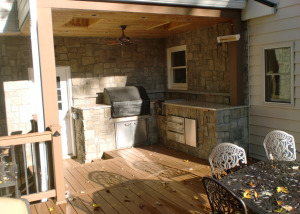 Outdoor kitchen deck Mclean VA