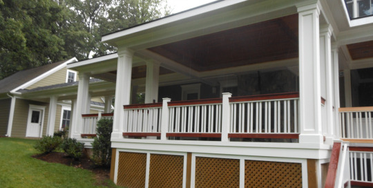 Deck pavilion and covered area Mclean VA