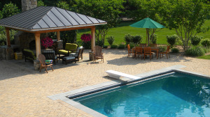 Swimming pool and pool deck McLean VA