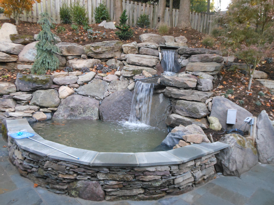 Waterfall pond Mclean