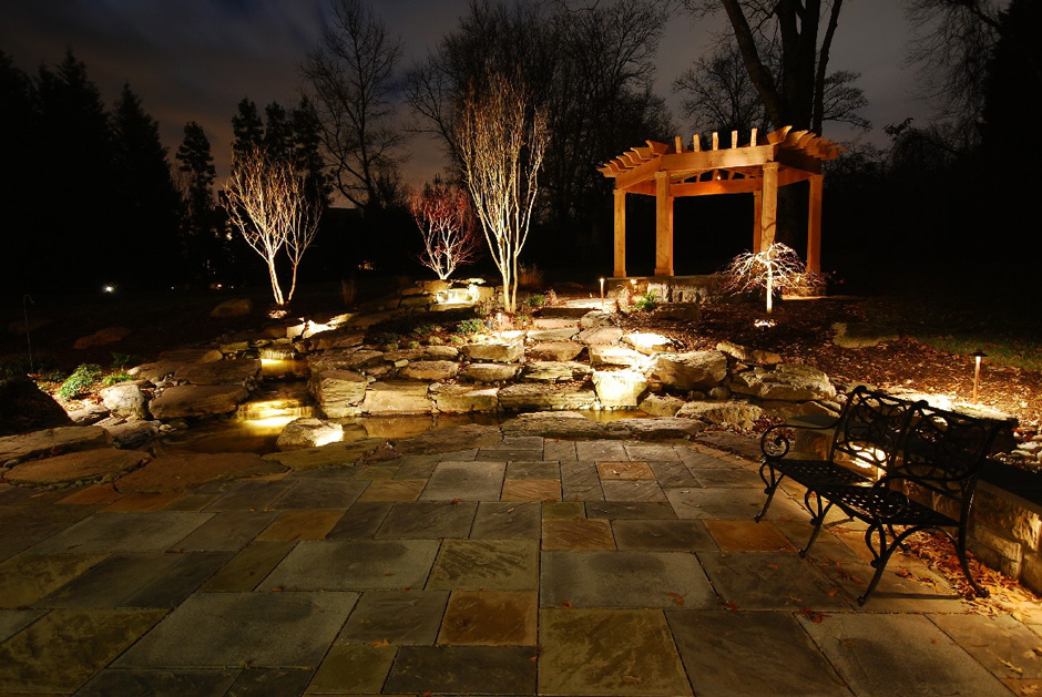 Landscape lighting Northern VA