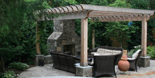 Outdoor living area Great Falls