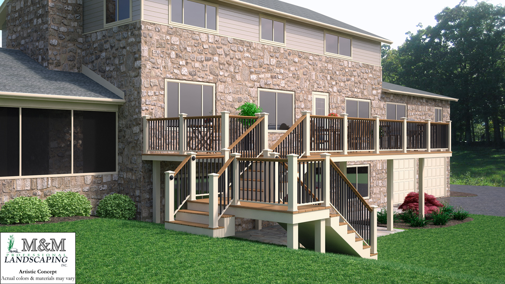 3d deck design Northern VA