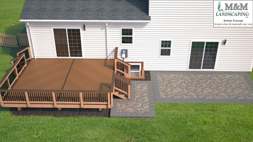 3d patio and deck design Fairfax VA