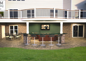 3d deck and patio design Leesburg