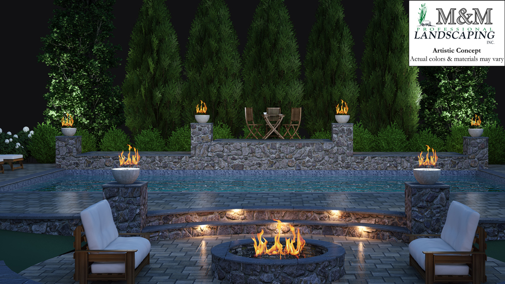 3d landscape design services in northern virginia m m for Garden design 3d online