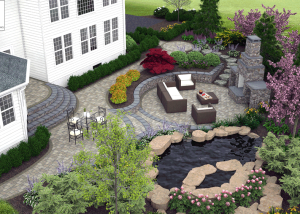 3D patio design Ashburn VA