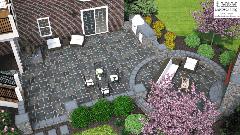 3D patio design Great Falls VA